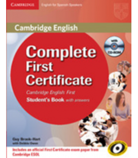 Complete First Certificate, Student's Book (Enhanced PDF)