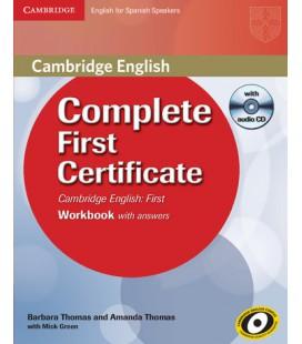 Complete First Certificate, Workbook (Enhanced PDF)