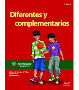 Diferentes y complementarios. Libro 5.