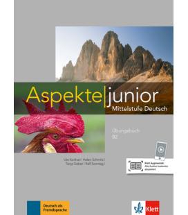 Aspekte junior B2 Übungsbuch