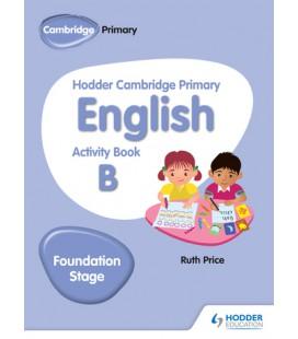Hodder Cambridge Primary English Activity Book B Foundation Stage
