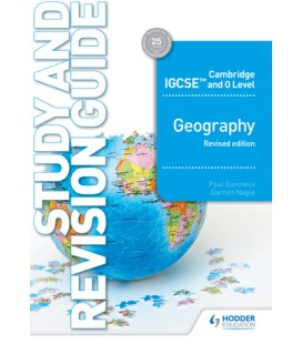 Cambridge IGCSE & O Level Geography Study & Revision Guide revised edition