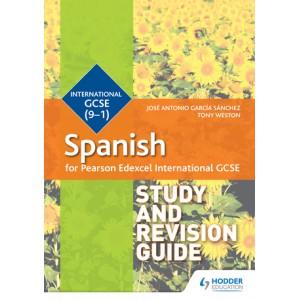 Pearson Edexcel International GCSE Spanish Study and Revision Gui
