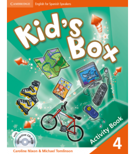 Kid's Box 1st 4 Activity Book (Enhanced PDF)