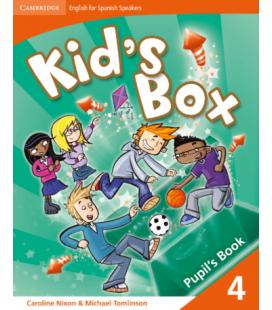 Kid's Box 1st 4 Pupil's Book (Enhanced PDF)