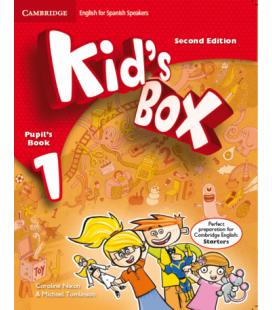 Kid's Box 2nd 1 Pupil's Book (Enhanced PDF)