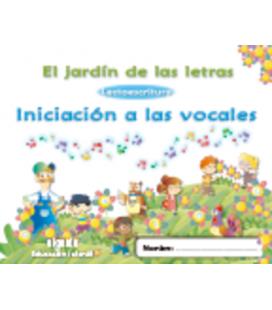 El jardín de las letras. Lectoescritura. Iniciación a las vocales. Algaida +