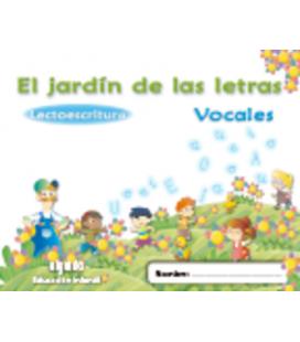 El jardín de las letras. Lectoescritura. Vocales. Algaida +