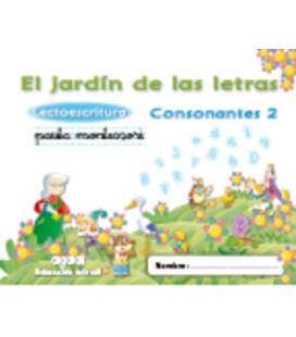 El jardín de las letras. Lectoescritura. Consonantes 2. Algaida +